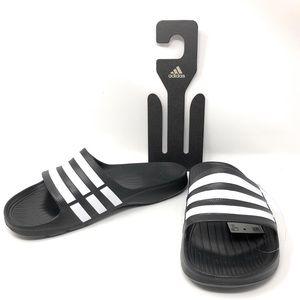Adidas Duramo Slide Black Synthetic Adult Sandals